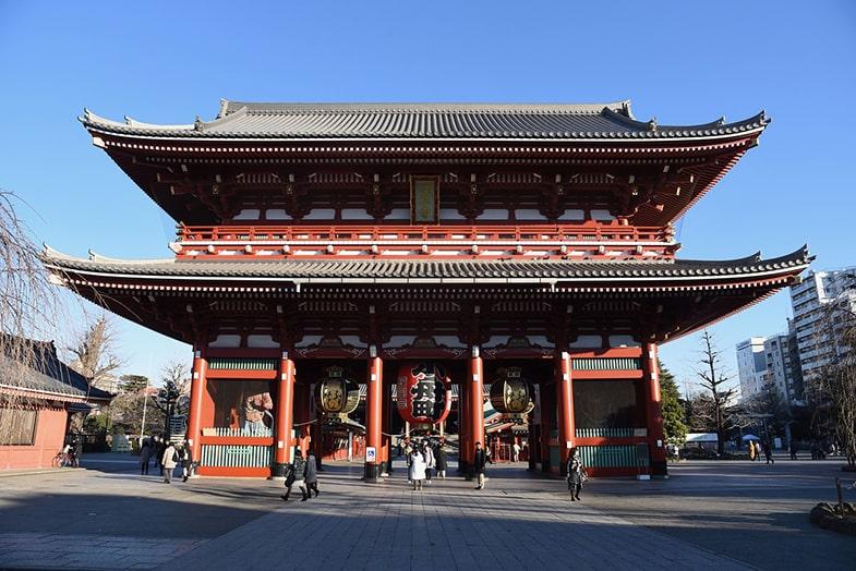 Sensoji tempel in Tokyo