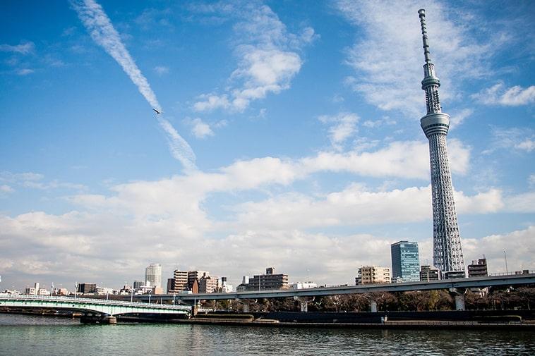 Tokyo Skytree met skyline