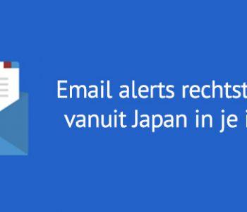 Email alerts Tokyo.nl