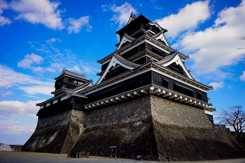 Kumamoto jo kasteel
