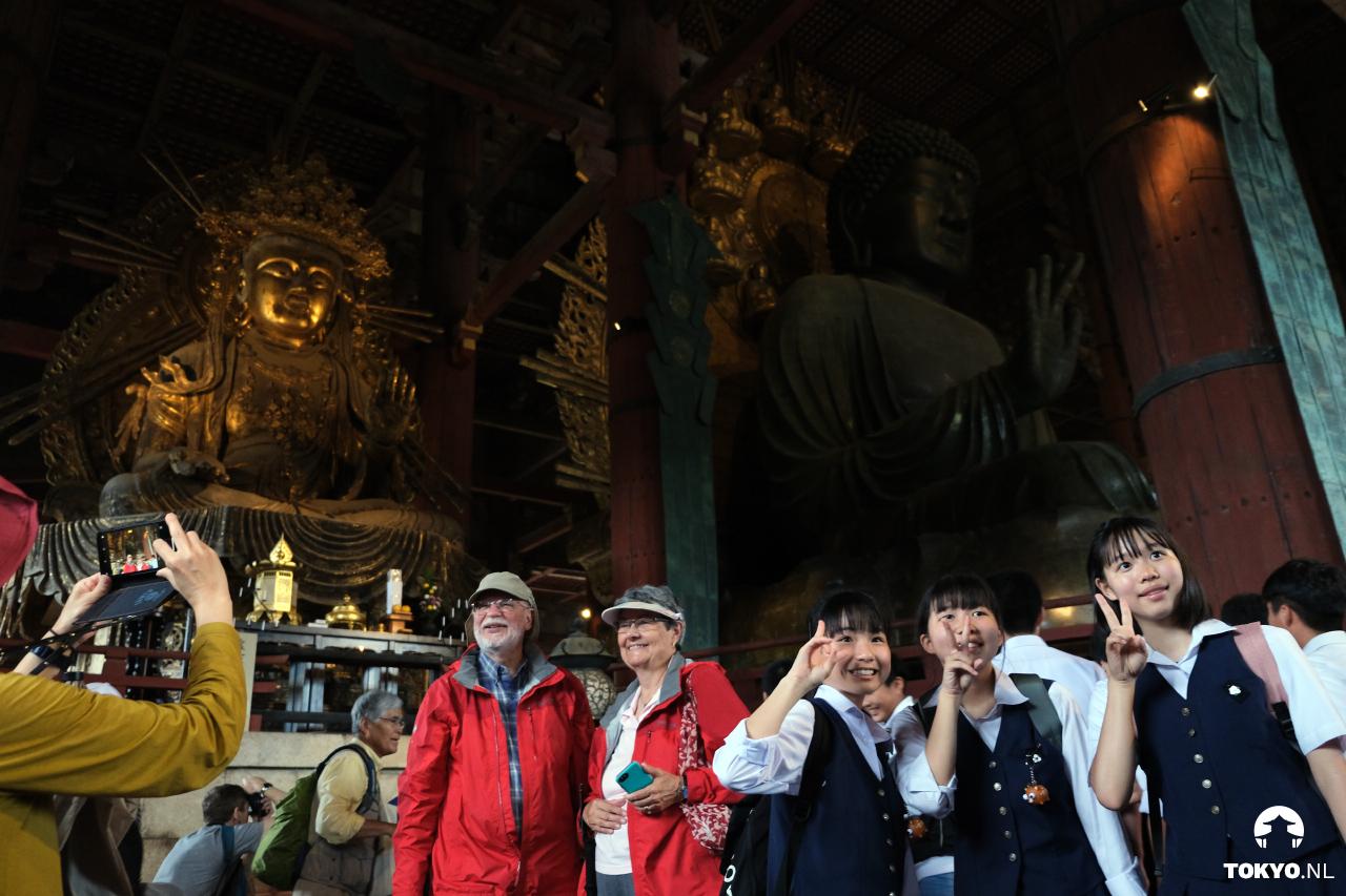 Daibutsu in de Todai-ji Nara