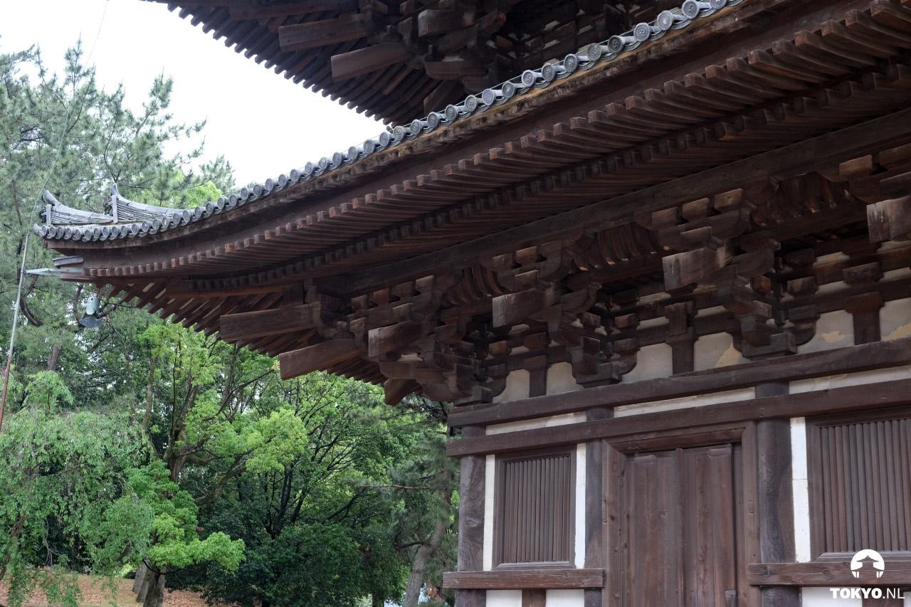 Horyu-ji tempel pagode in Nara