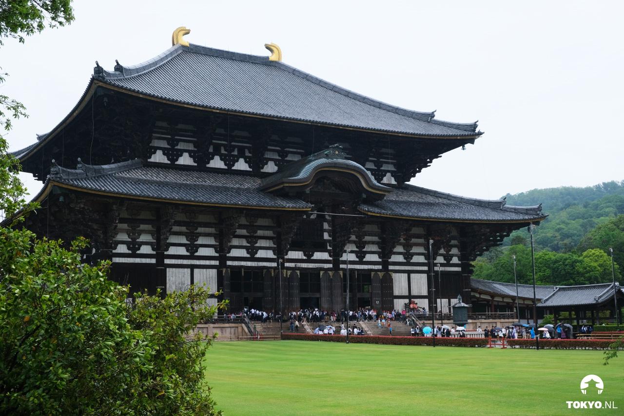 Nara Japan Todai-ji houten tempel