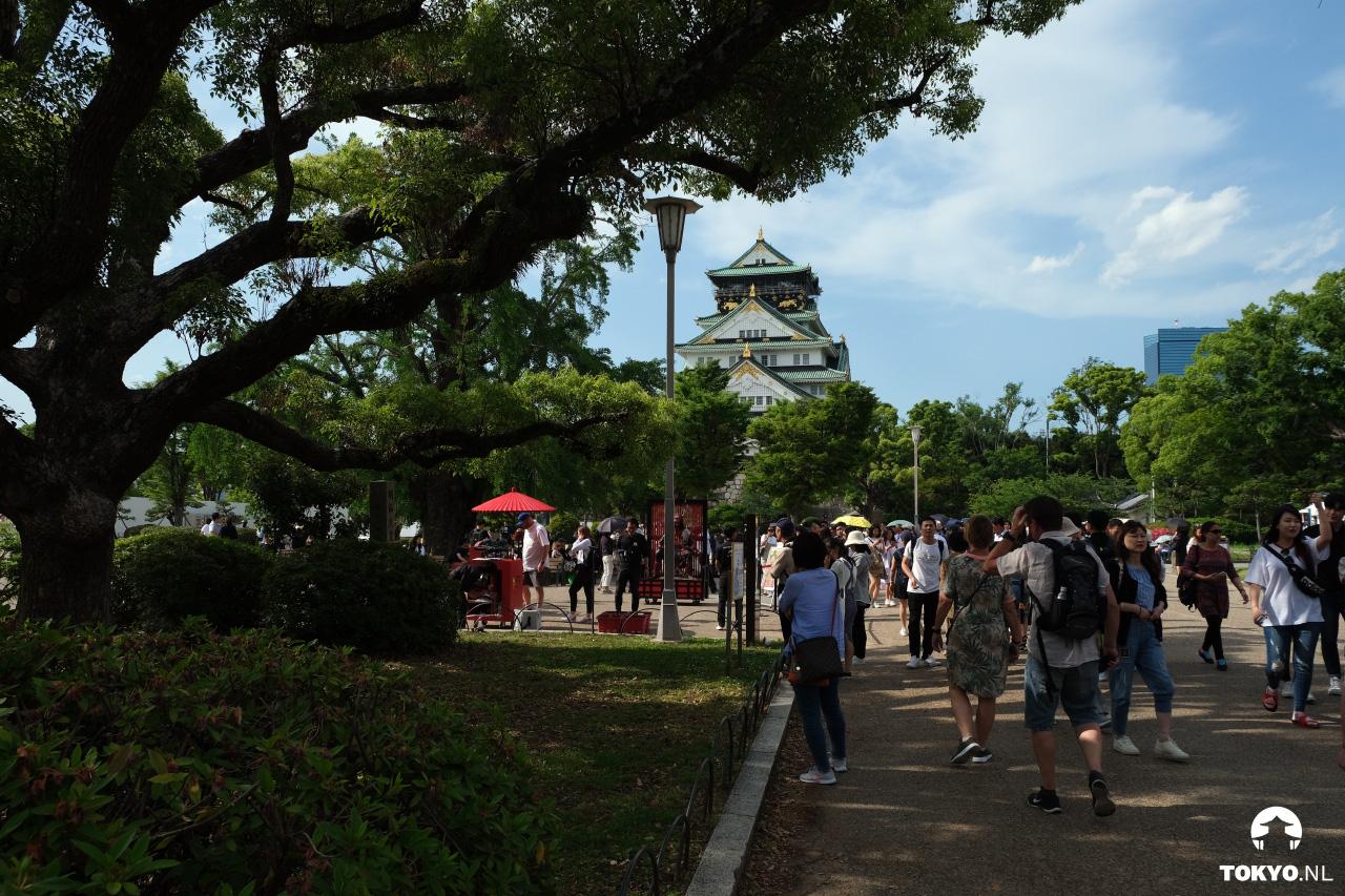 Osaka kasteel binnenplaats