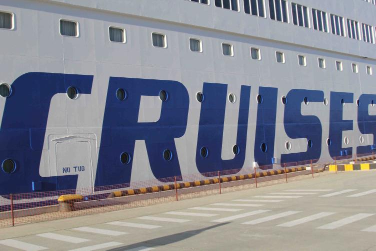 Slaapplek cruiseschip OS2014 Sochi