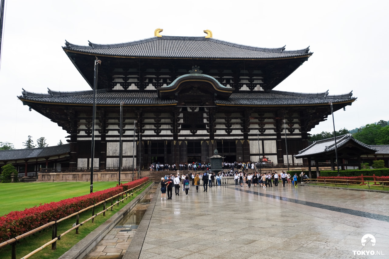 Todai-ji houten tempel in Nara Japan