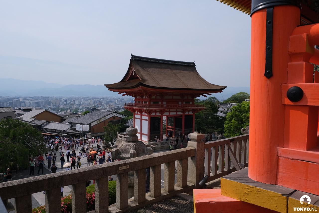 Uitzicht over Kyoto