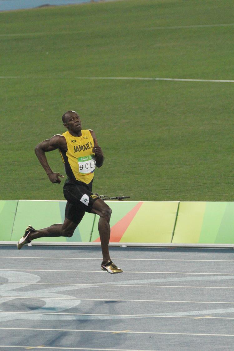 Usain Bolt sprint Olympic Games