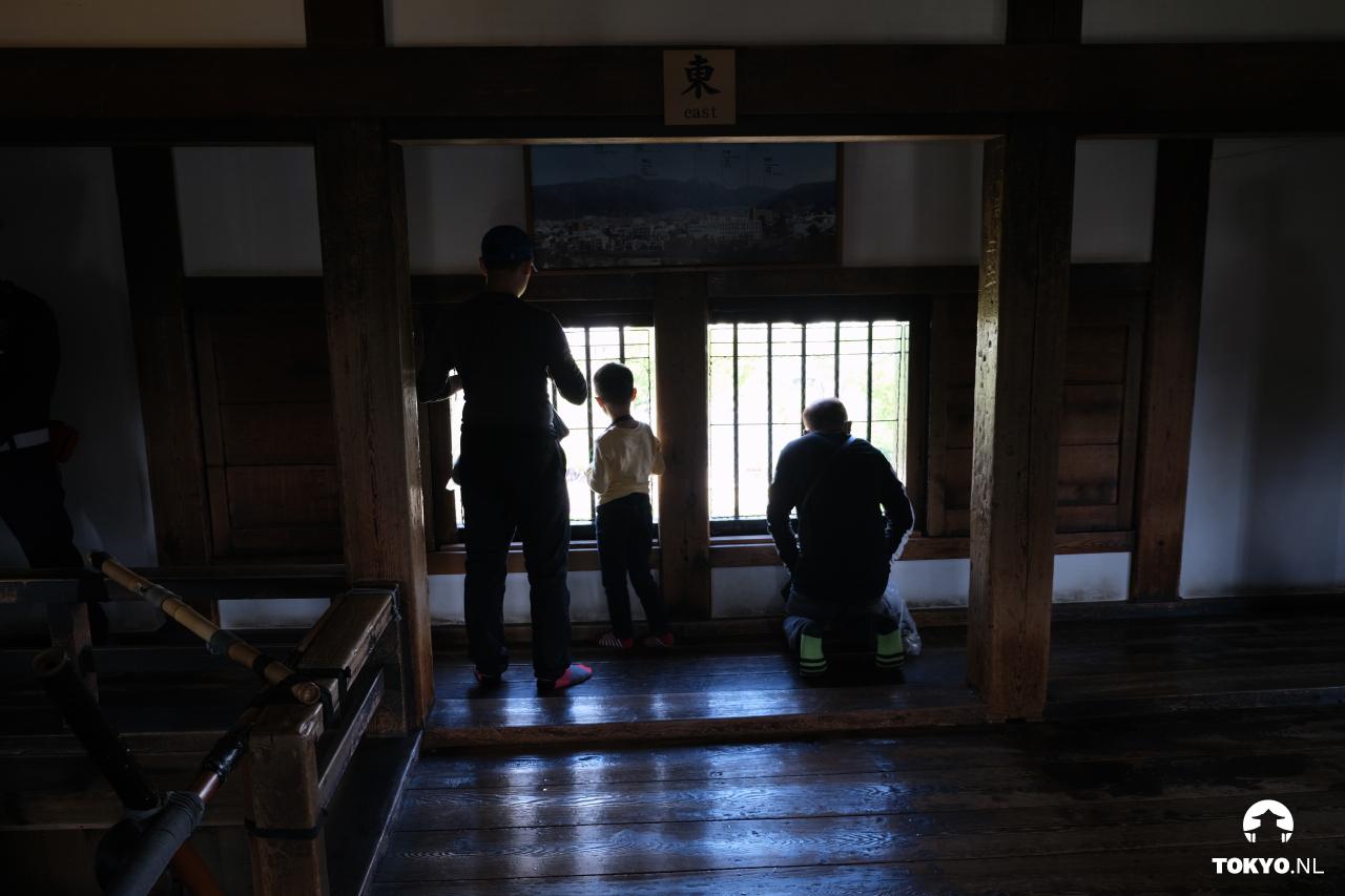 3e verdieping Matsumoto kasteel