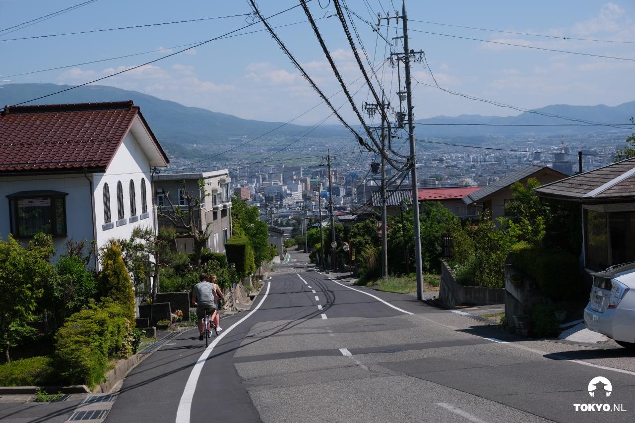 Fietsen in Matsumoto