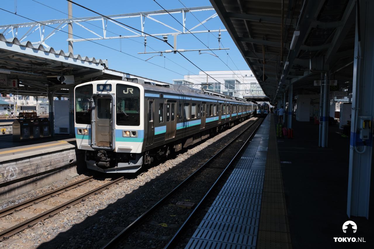 JR treinen netwerk
