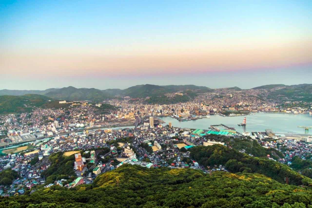 Uitzichtpunt mount Inasa Nagasaki
