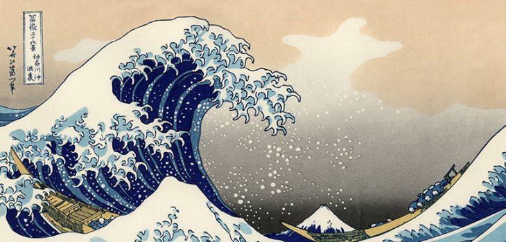 Tsunami (Grote Golf van Kanagawa)