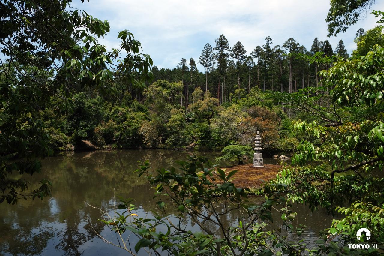 Anmintaku pond - Kyoto