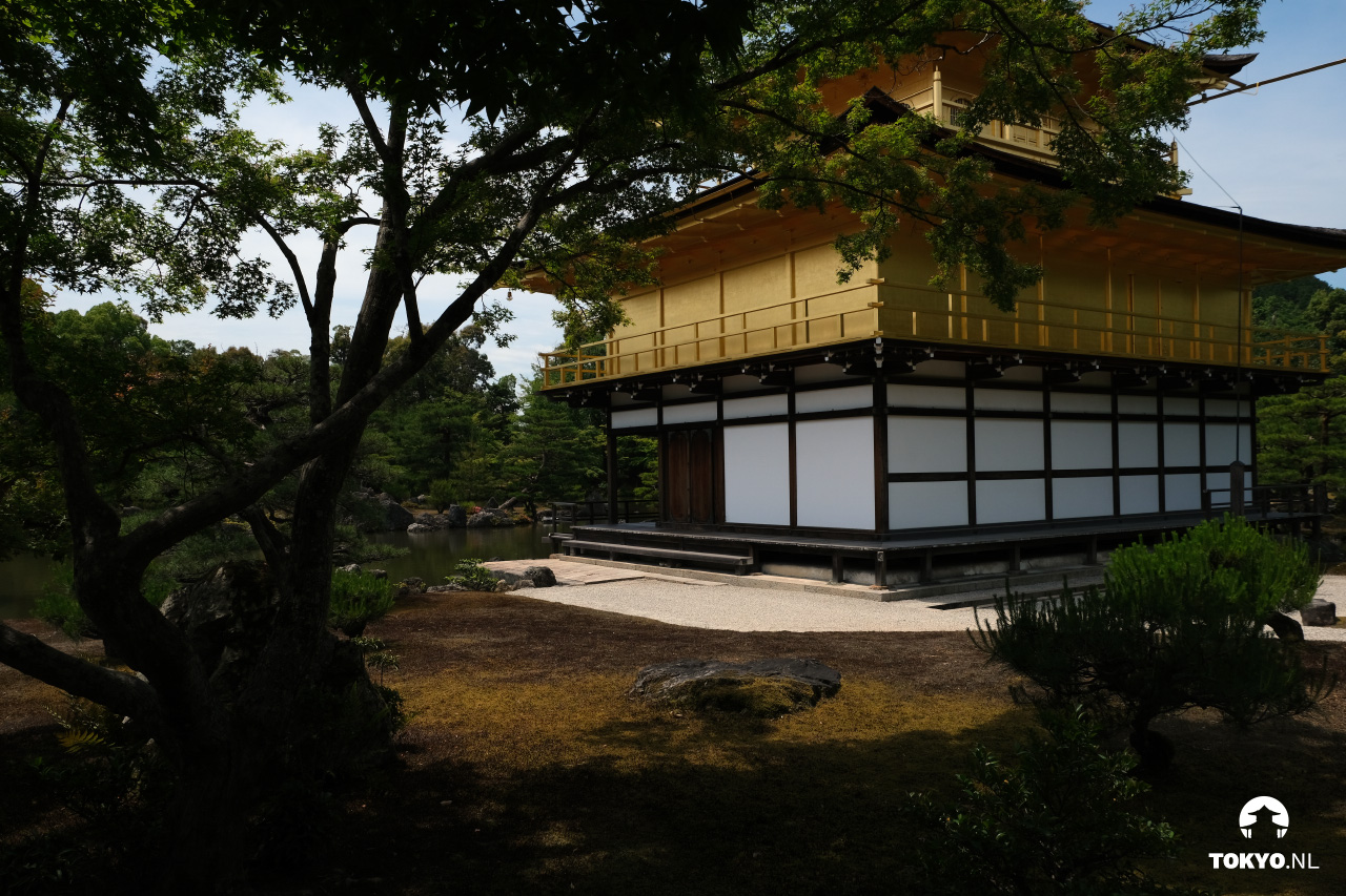 Bouwstijlen Kinkaku-ji tempel