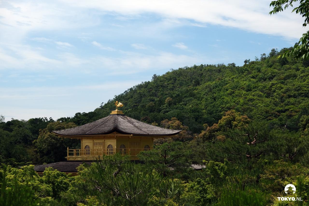 Dak fenix van de Kinkakuji
