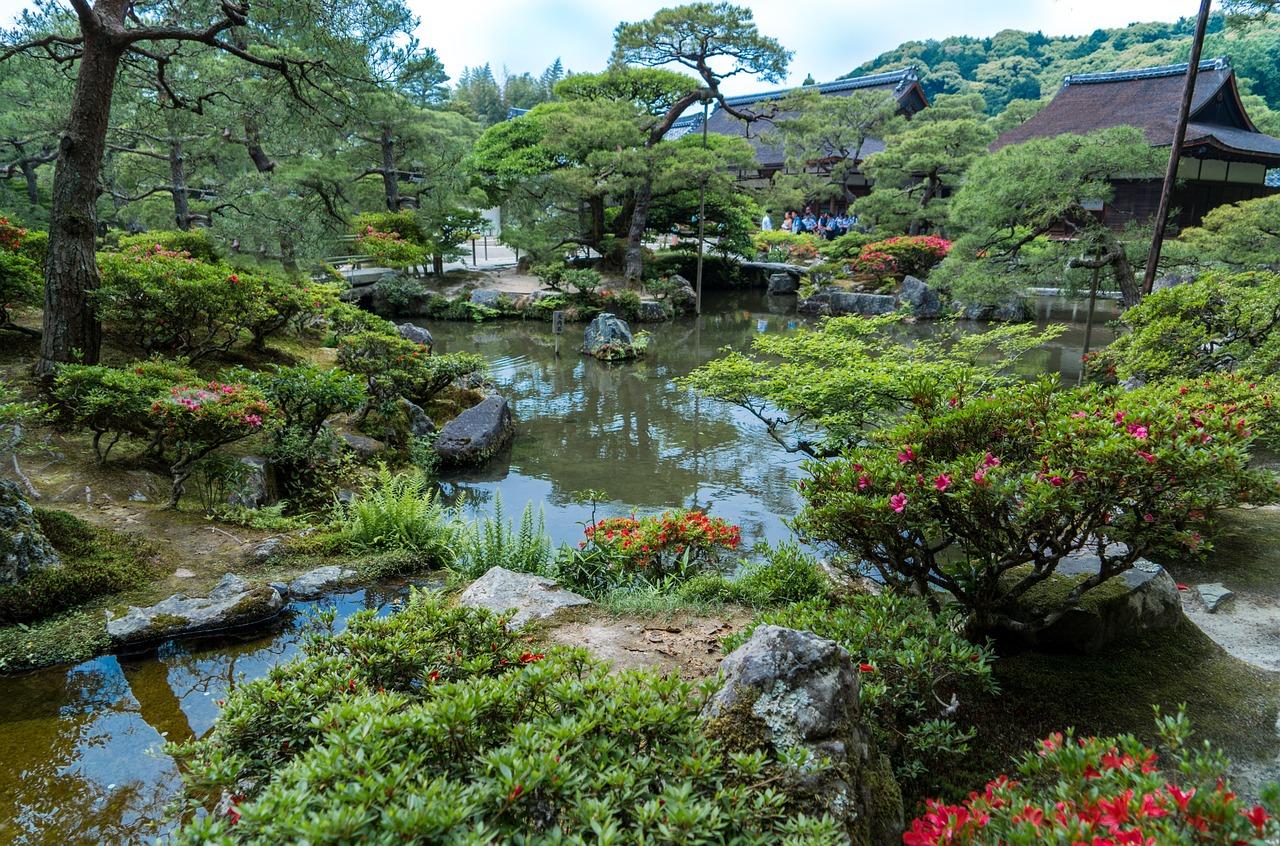 Ginkaku-ji Japanse tuin