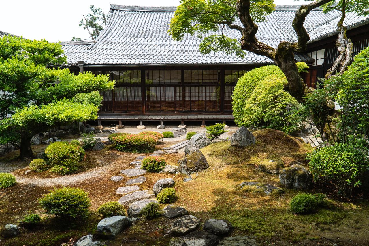 Ginkaku-ji villa van Shogun