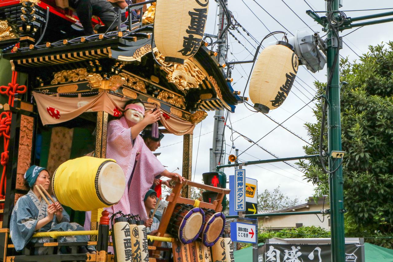 Hanami festival Chiba