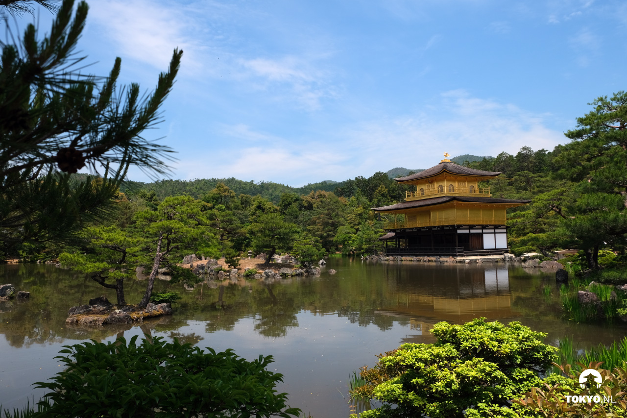 Kinkakuji Gouden Paviljoen Kyoto