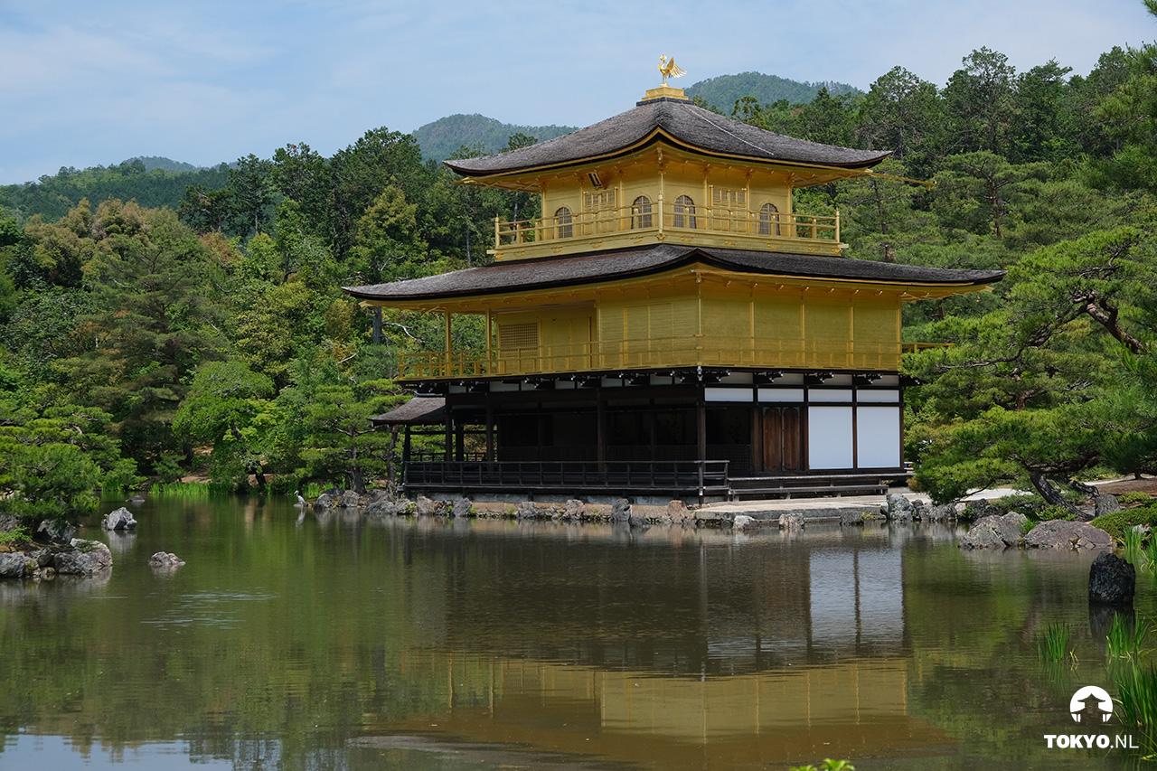 Kinkakuji tempel in Kyoto
