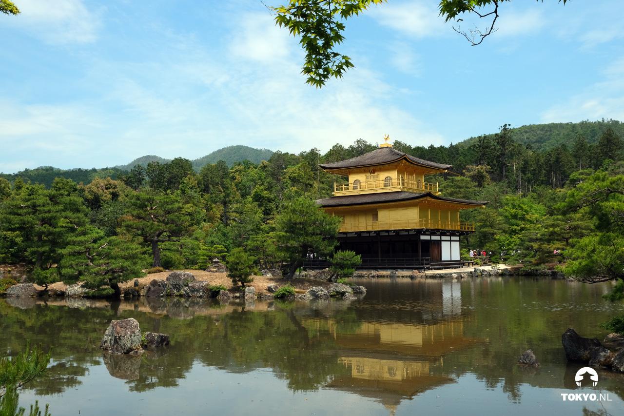 Uitzichtpunt vijver Kinkakuji