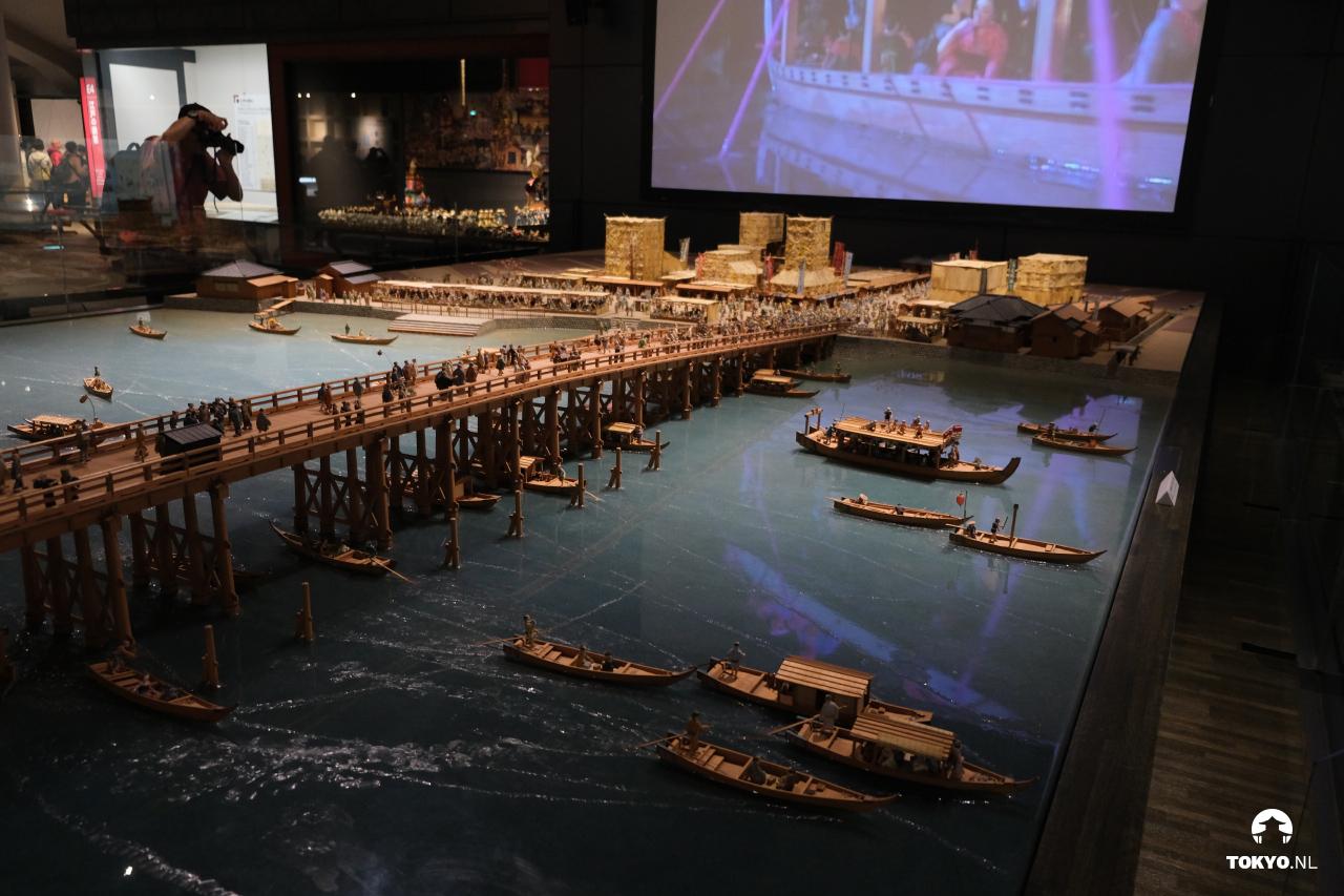 Edo-Tokyo museum maquette