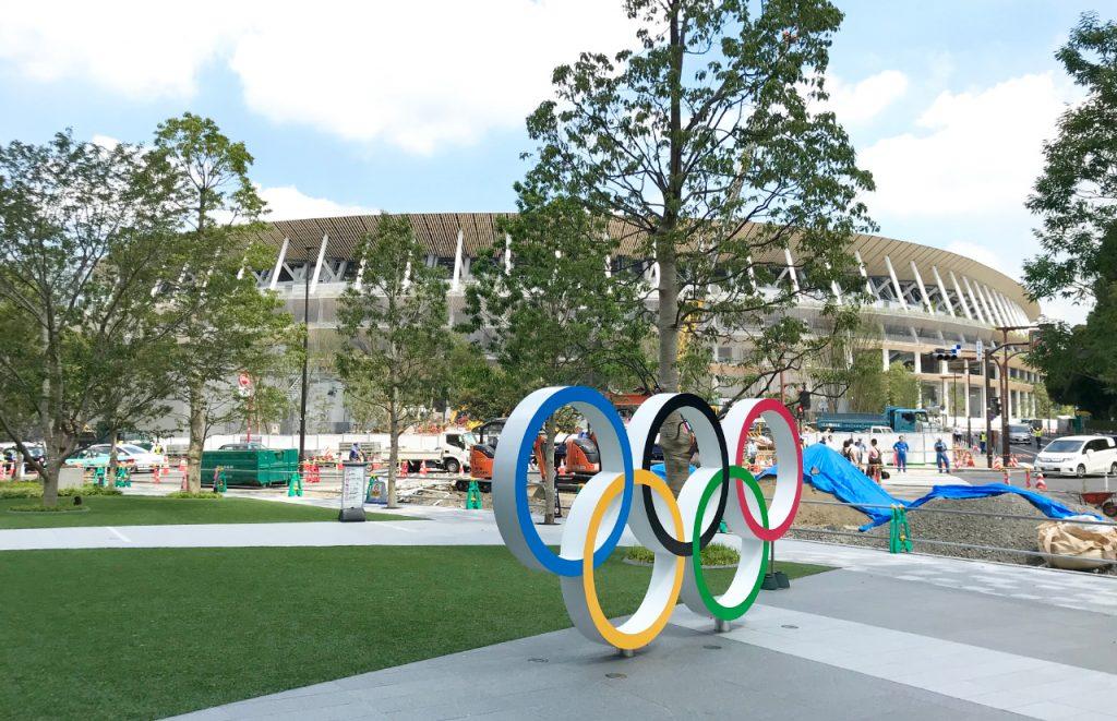 Olympisch Stadion in Tokyo