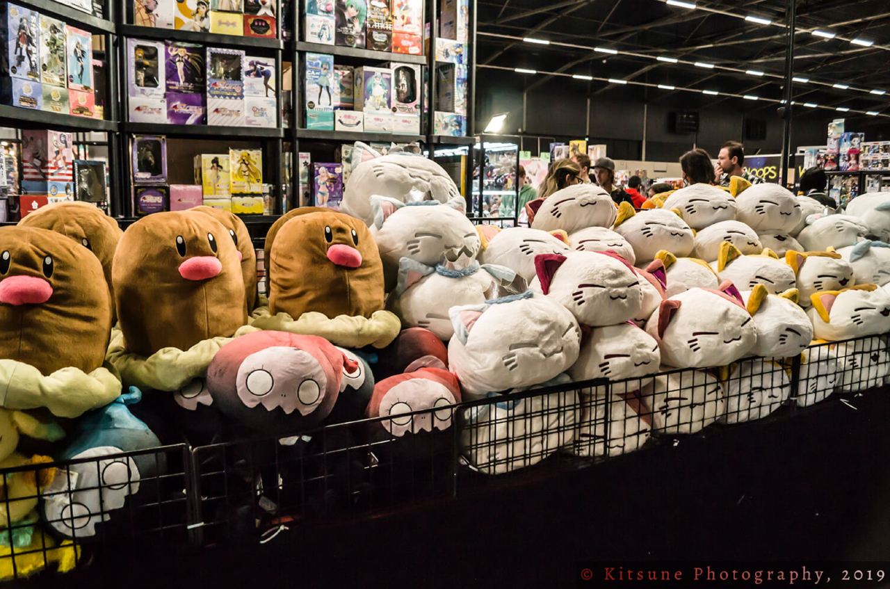 AnimeCon knuffels verkoop