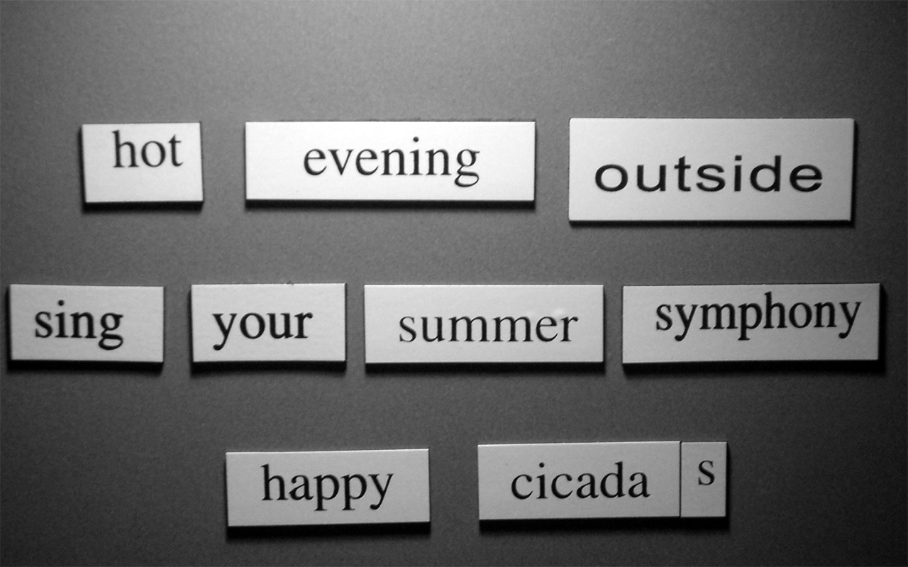 Haiku over de zomer