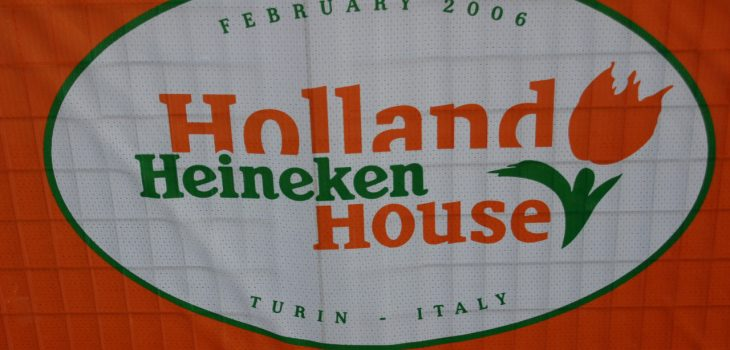 Holland Heineken House vlag