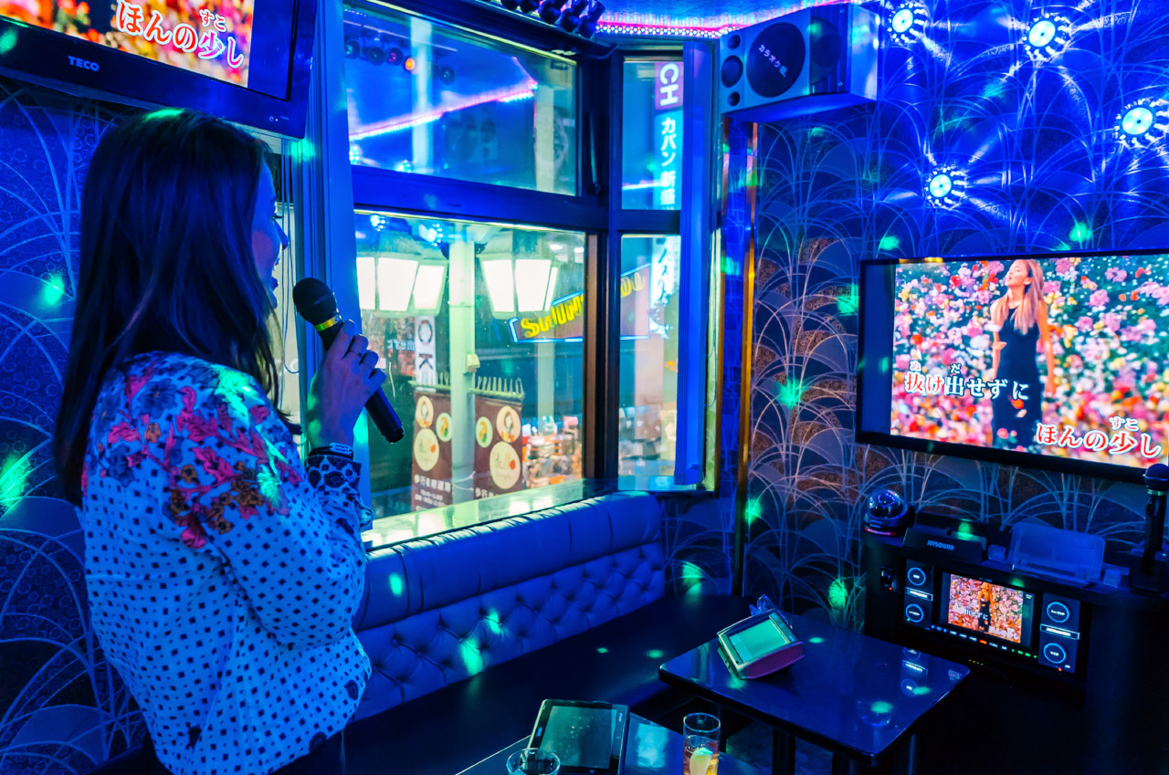 Karaoke bars in Tokyo