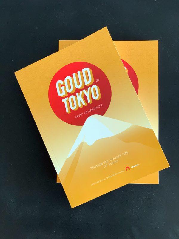 Paperback reisgids Goud in Tokyo