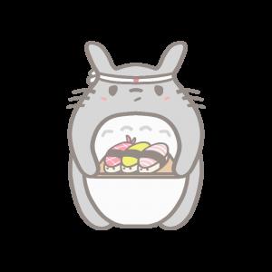 Sushi kat doodle