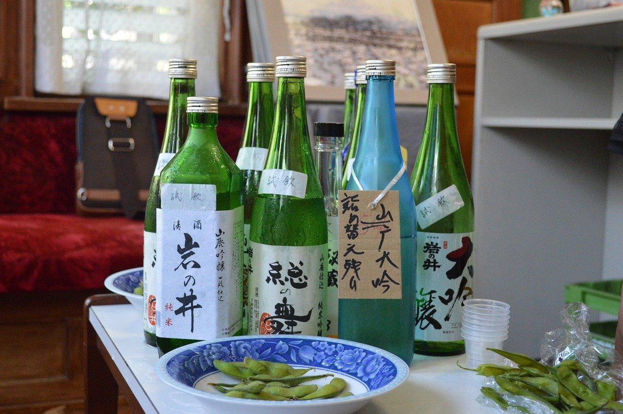 Sake proeverij in Kobe