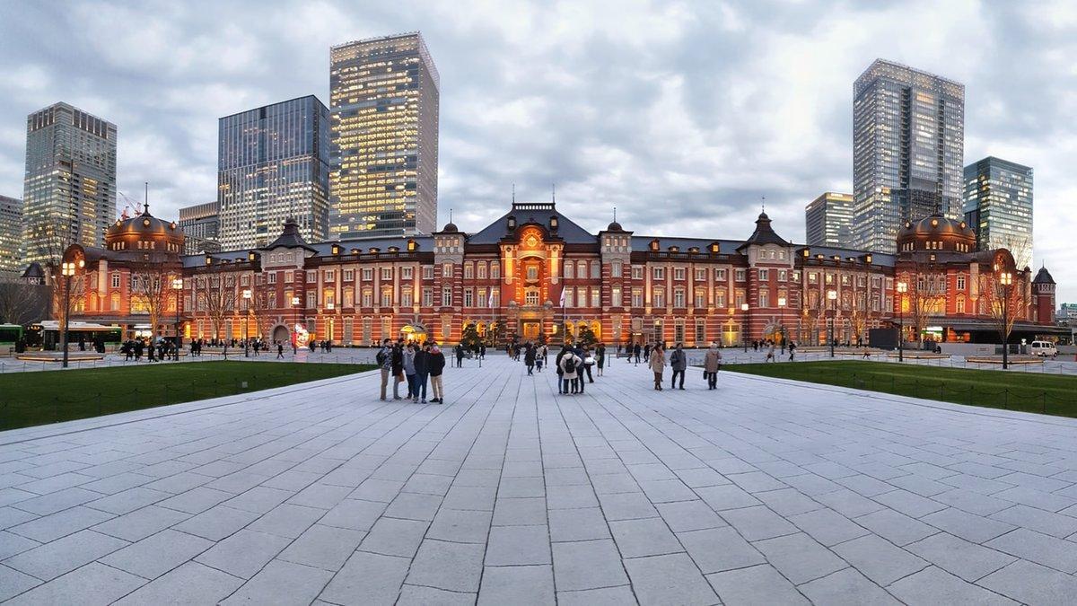 Tokyo Station in Marunouchi, Tokyo