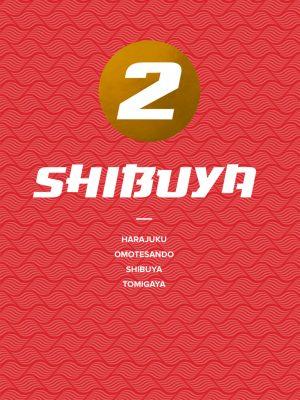 Voorpagina Shibuya digitale reisgids