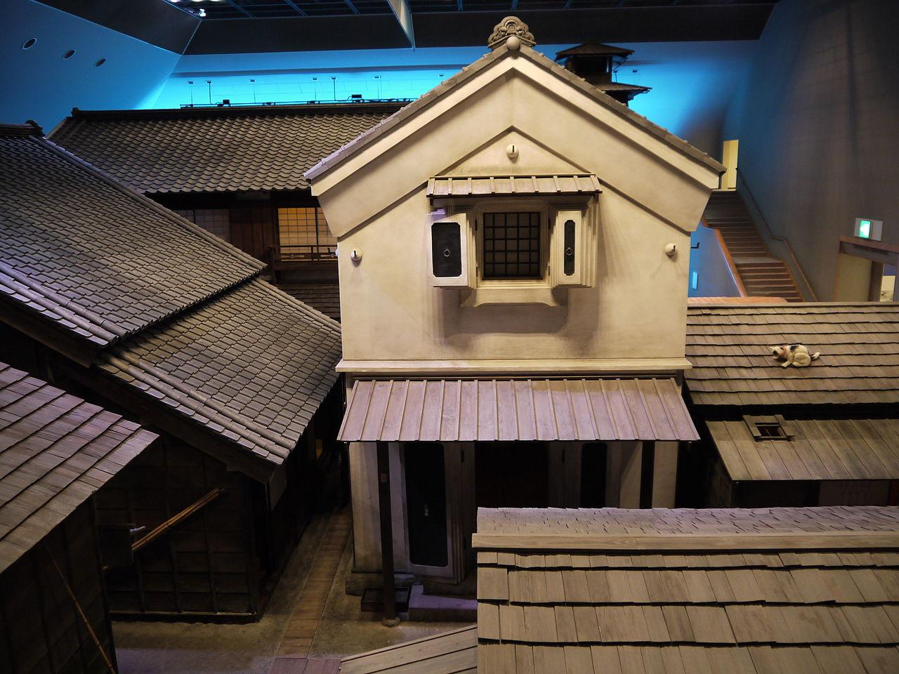 Het Edo Museum in Fukugawa