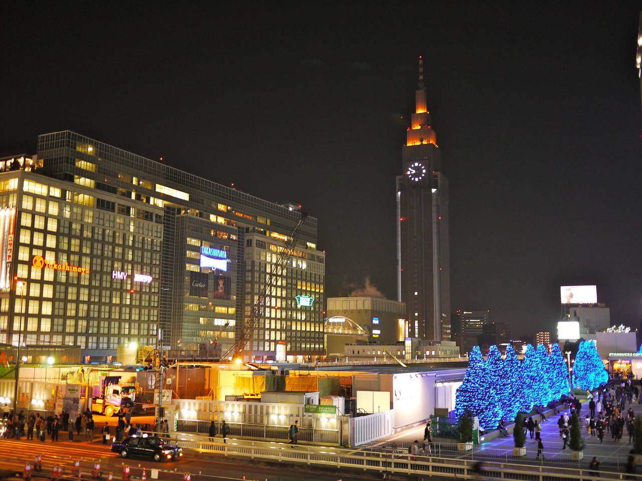 Takashima Times Square in Higashi-Shinjuku