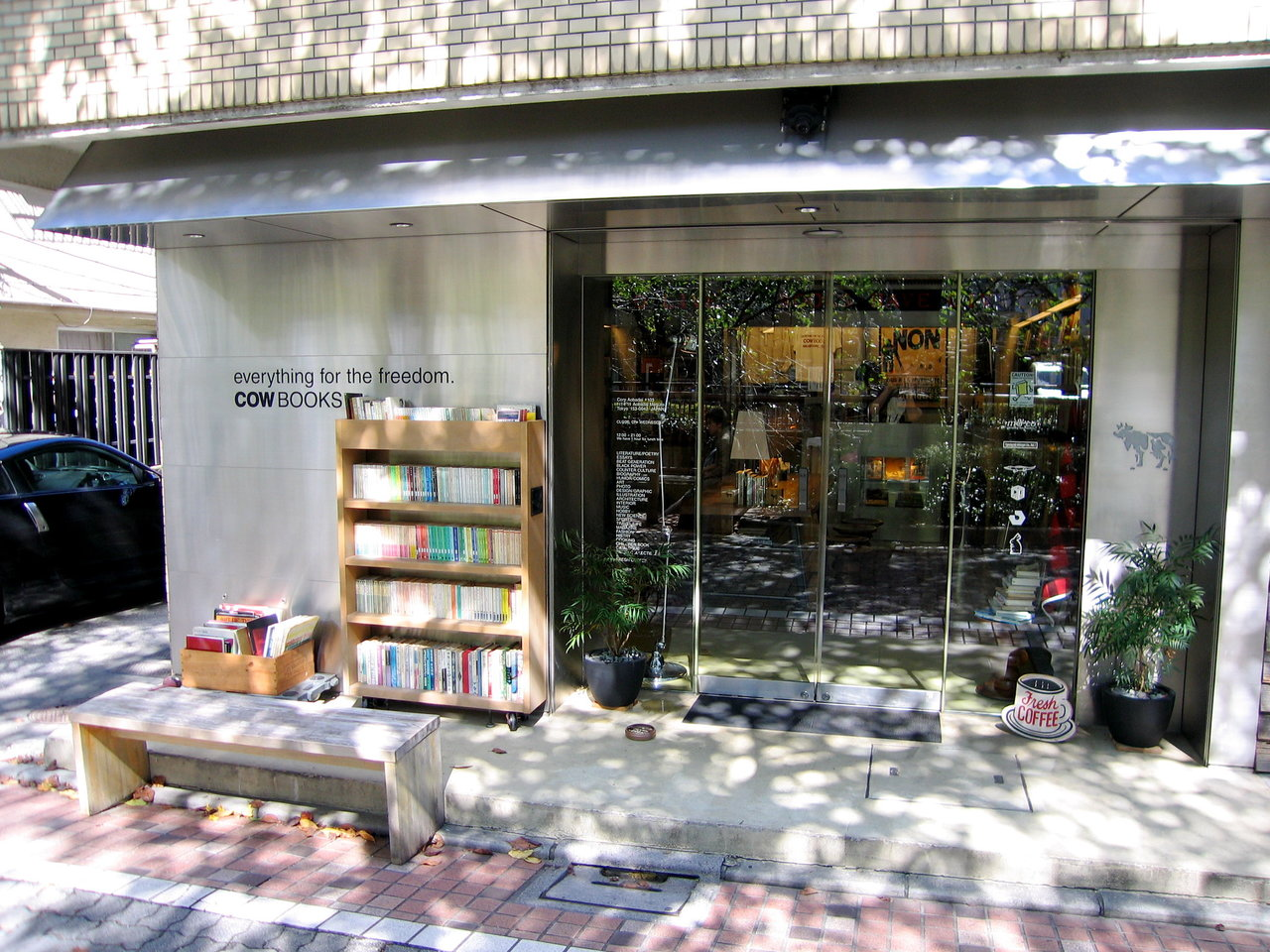 De boekenwinkel Cow Books in Nakameguro