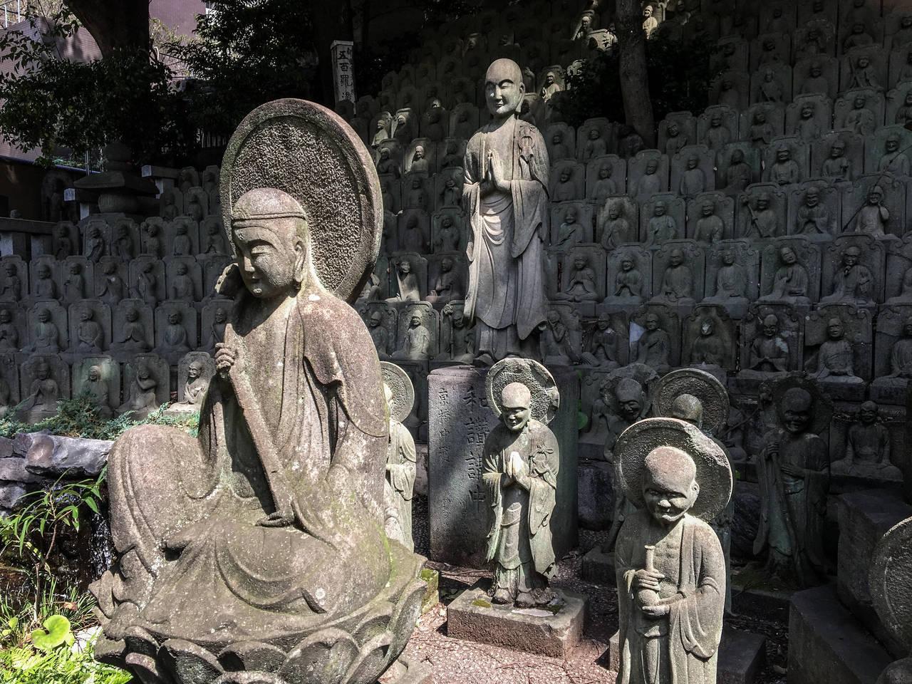 De Dajen-ji tempel in Meguro