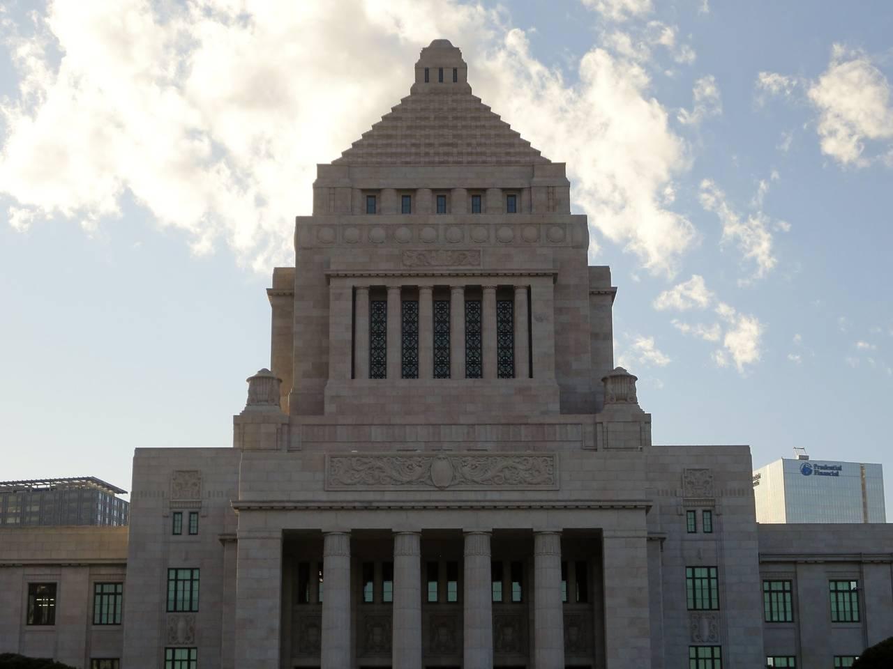 National Diet Building in Tokyo