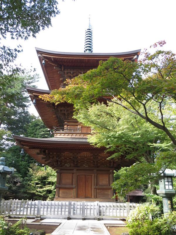 de pagoda van Gotoku-ji