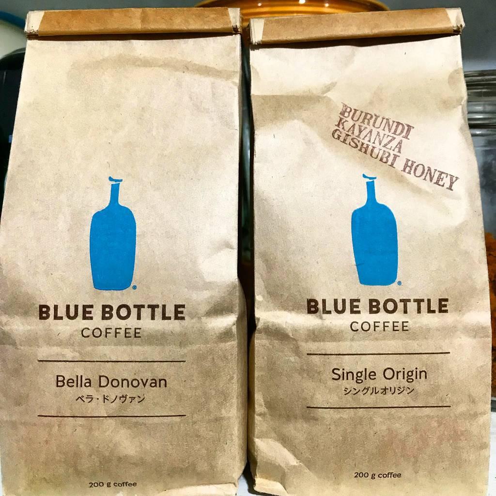 Heerlijke koffie bij Tokyo Blue Bottle