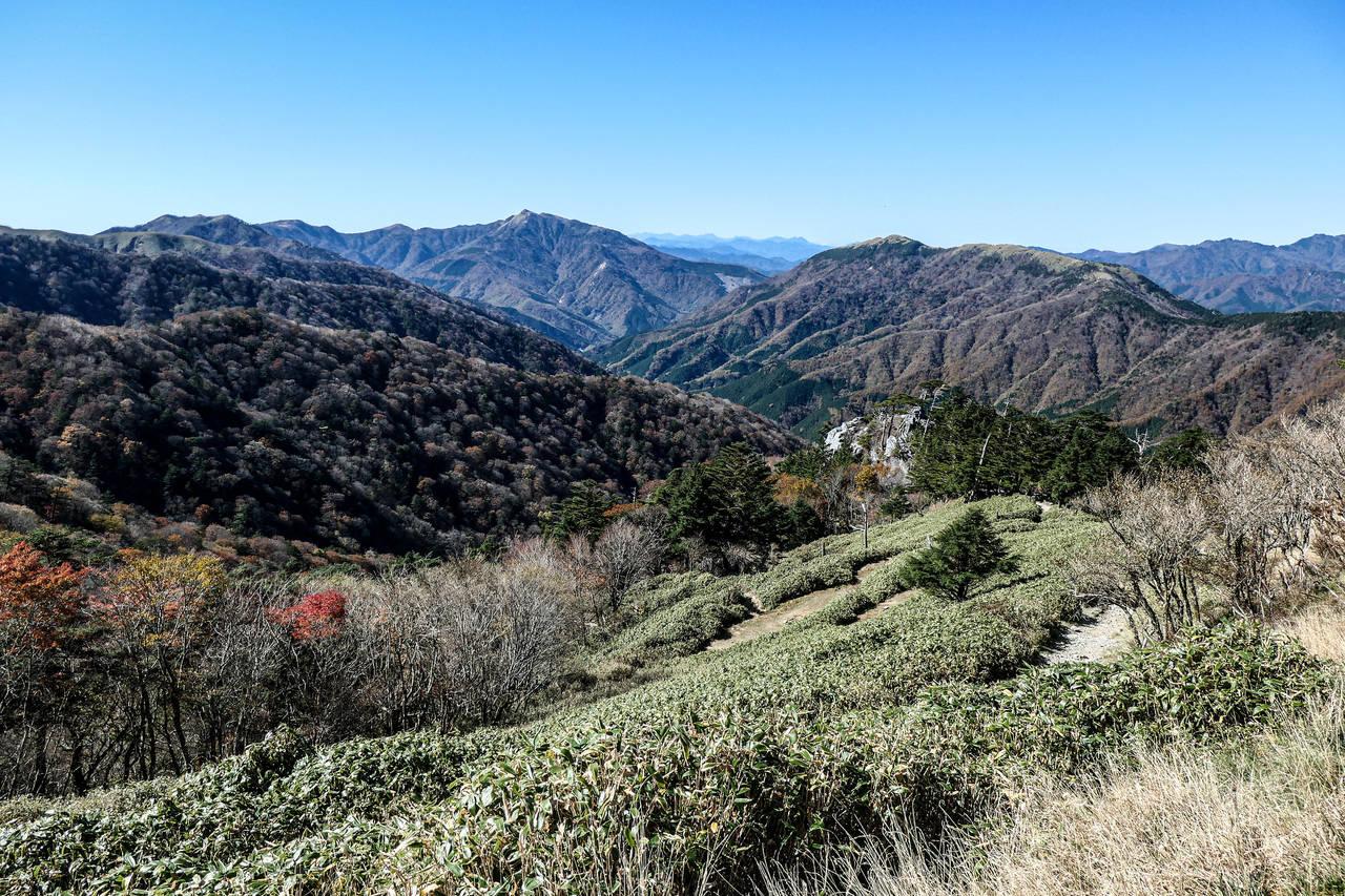 uitzicht Iya vallei, Japan
