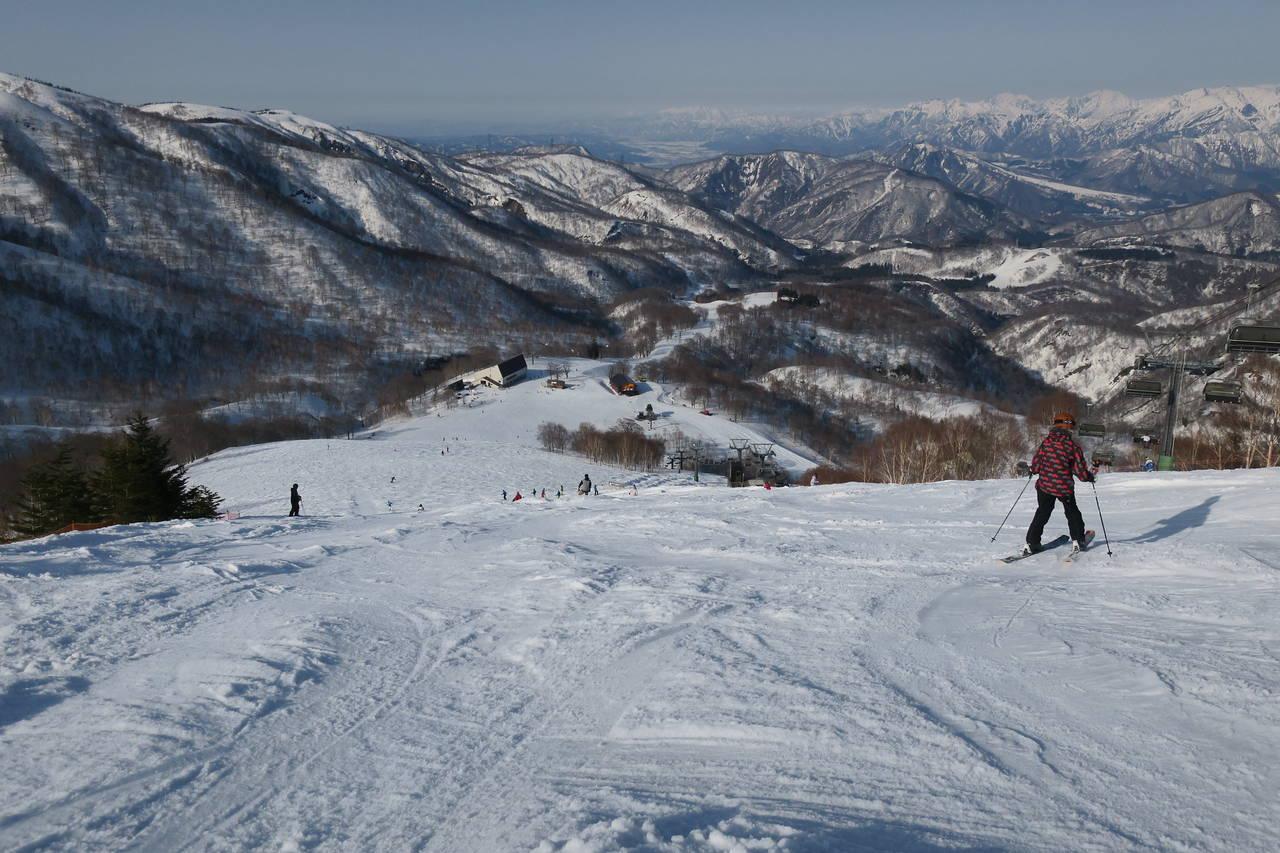 het wintersportgebied Kagura