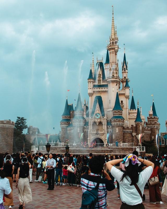 het Sleeping Beaty Castle in Disneyland Tokyo