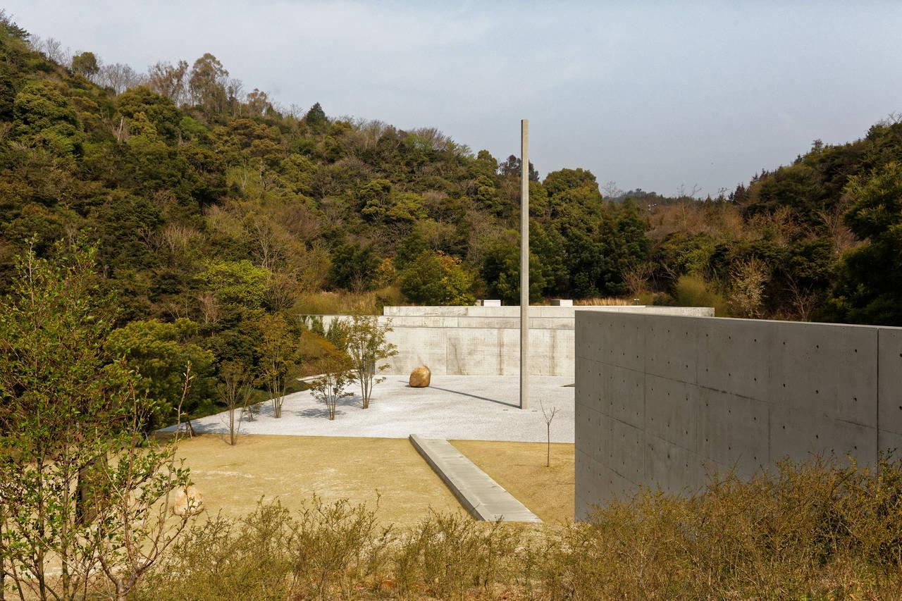 Het lee Ufan Museum op Naoshima