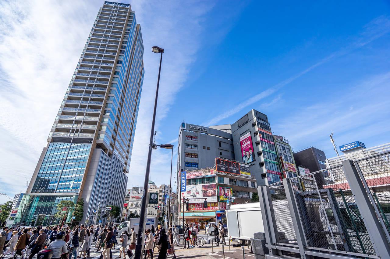De wijk Meguro, Tokyo