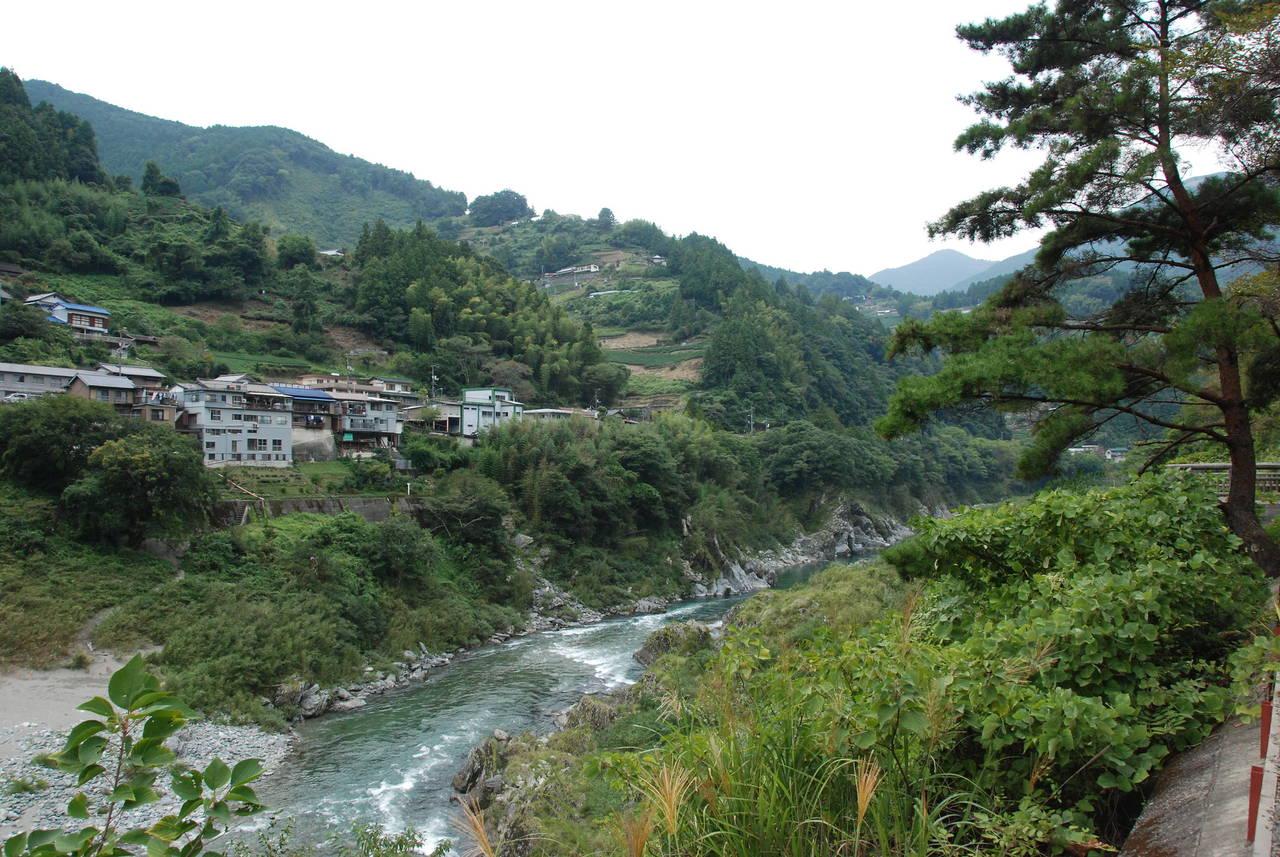 Nishi Iya, de ingang van de vallei